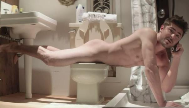 Here's Zac Efron, Zac Efron's Ass, And Zac Efron's Boner In Full Nude Scene