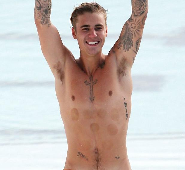 Bieber's Bondi Baptism!