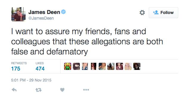 Deen Denies…