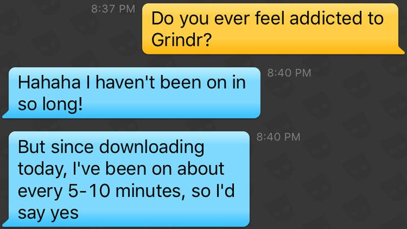On Grindr Addiction