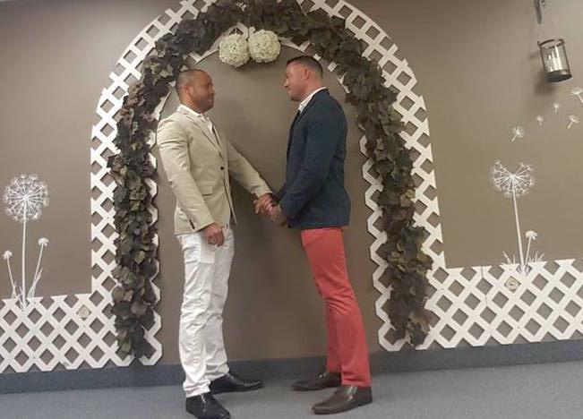 Gay Porn Star Sean Duran And Hunky Boyfriend Married In Florida!