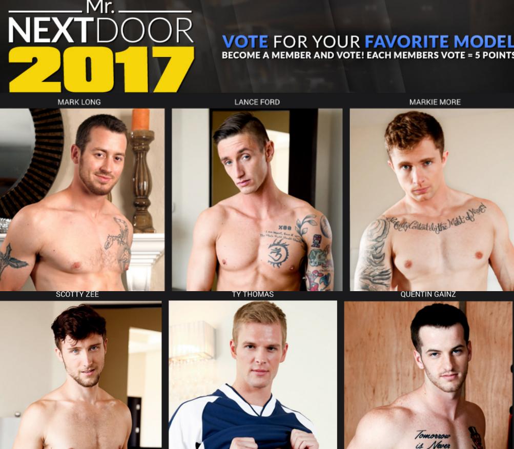 """NextDoorStudios Announces """"Mr. Next Door"""" Contest, Where A Gay Porn Star Can Win $1,000"""
