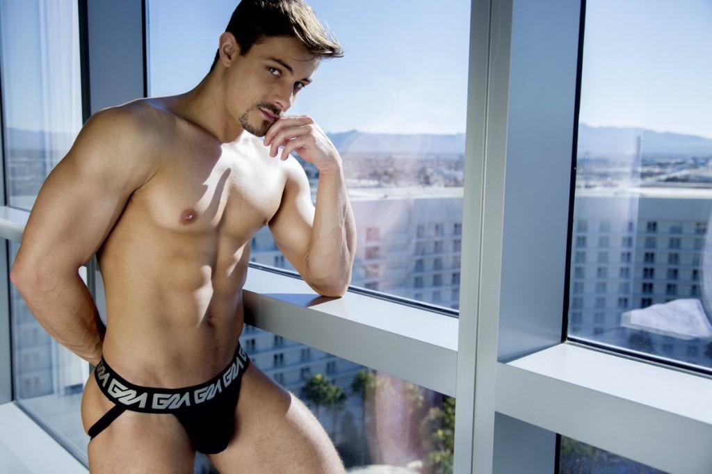 Best Gay Porn Star Winner Carter Dane Stuns In Garçon Model Campaign