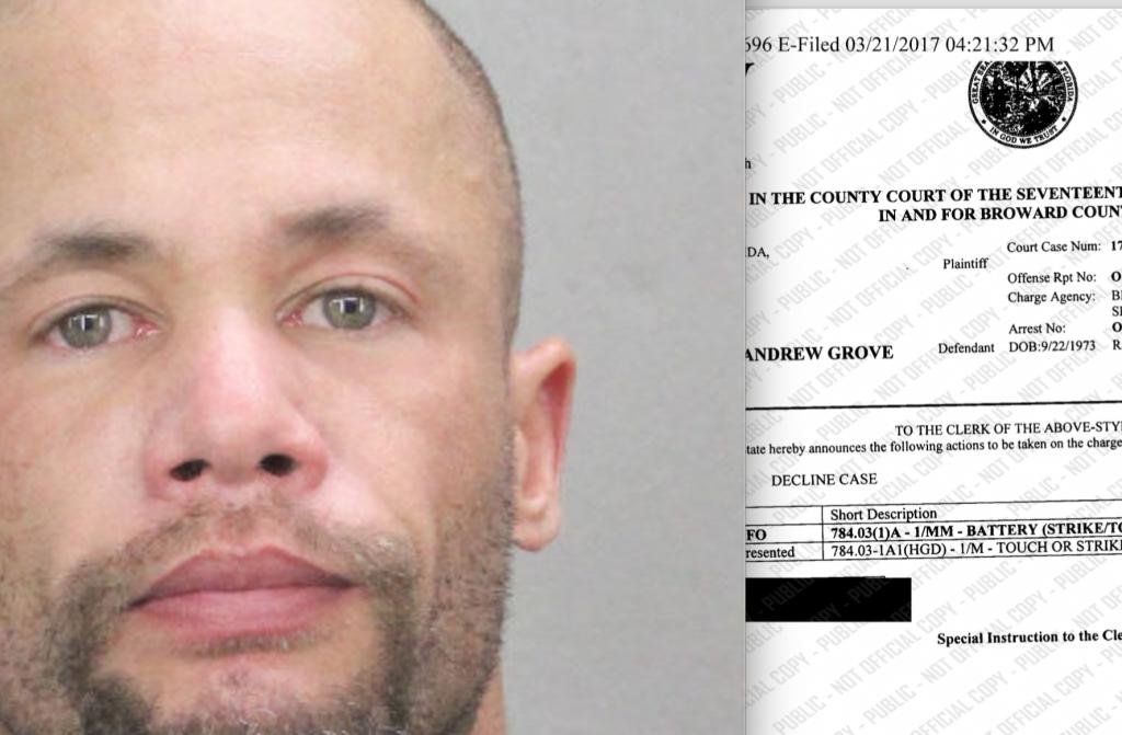 Florida Drops Domestic Violence Case Against Matthew Rush