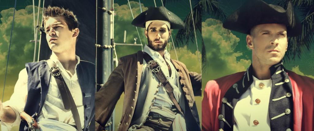 Johnny Rapid, Diego Sans, And Paddy O&#8217;Brian Star In <em>Pirates Of The Caribbean</em> Gay Porn Parody
