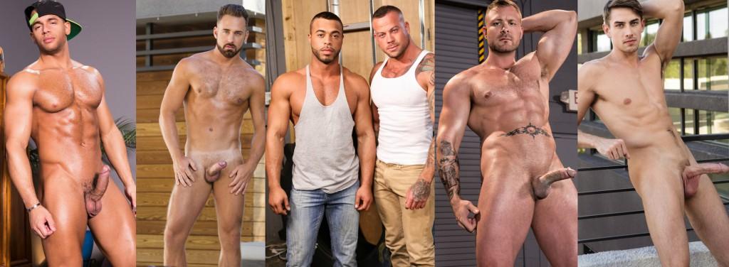Gay Porn Superstar Weekend: Sean Zevran, Logan Moore, Micah Brant, Sean Duran, Austin Wolf, Jack Hunter