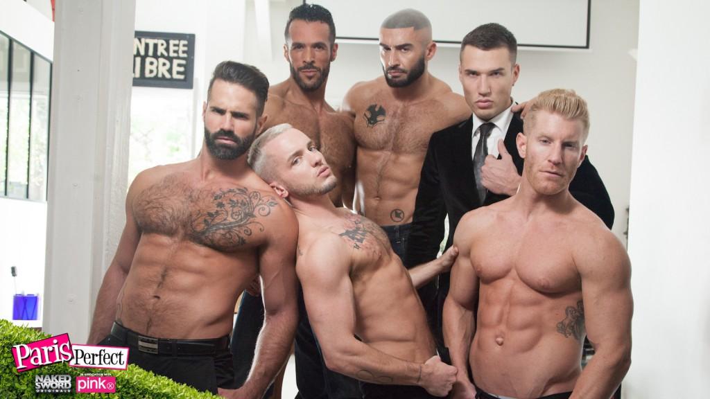 Colton Grey, François Sagat, And More Star In NakedSword&#8217;s <em>Paris Perfect</em>