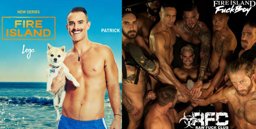 Logo&#8217;s <em>Fire Island</em> Star Patrick McDonald Makes His Gay Porn Debut Being Gangbanged Bareback On RawFuckClub