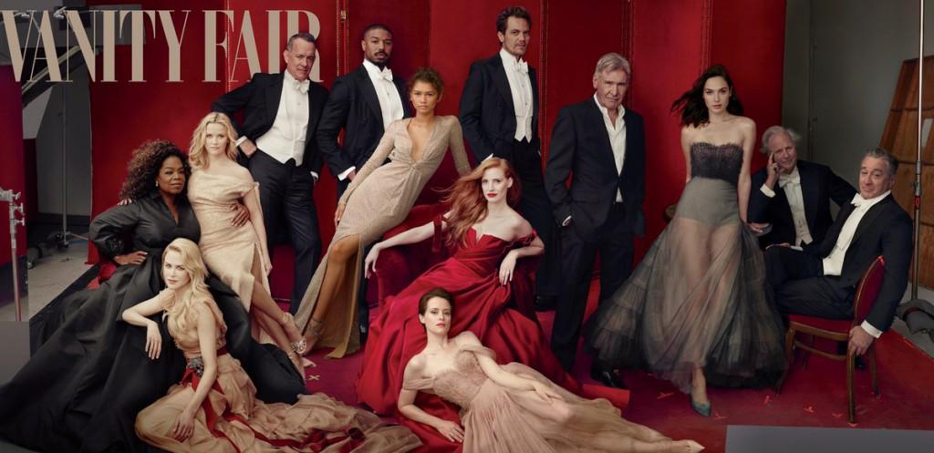 James Franco Digitally Erased From <em>Vanity Fair</em> Cover