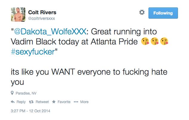 Colt Rivers Explains Motivation For Everything Dakota Wolfe Does