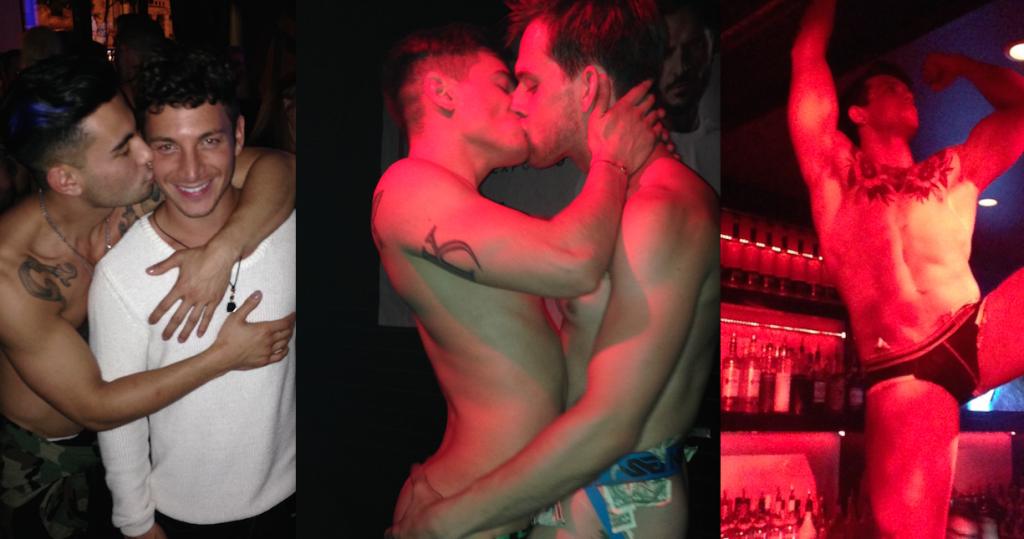Tayte Hanson, Sebastian Kross, Rocco Steele, Ricky Roman, And Levi Karter Take Over Chi Chi's Grabbys Pre-Party
