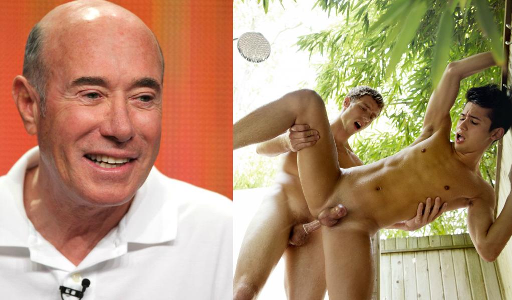 Liam Riley Takes On David Geffen Pal Justin Matthews