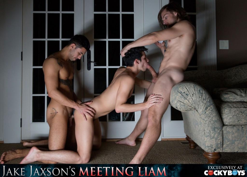 WATCH: Liam Riley, Tayte Hanson, And Ricky Roman&#8217;s <em>Meeting Liam</em> Fuckfest
