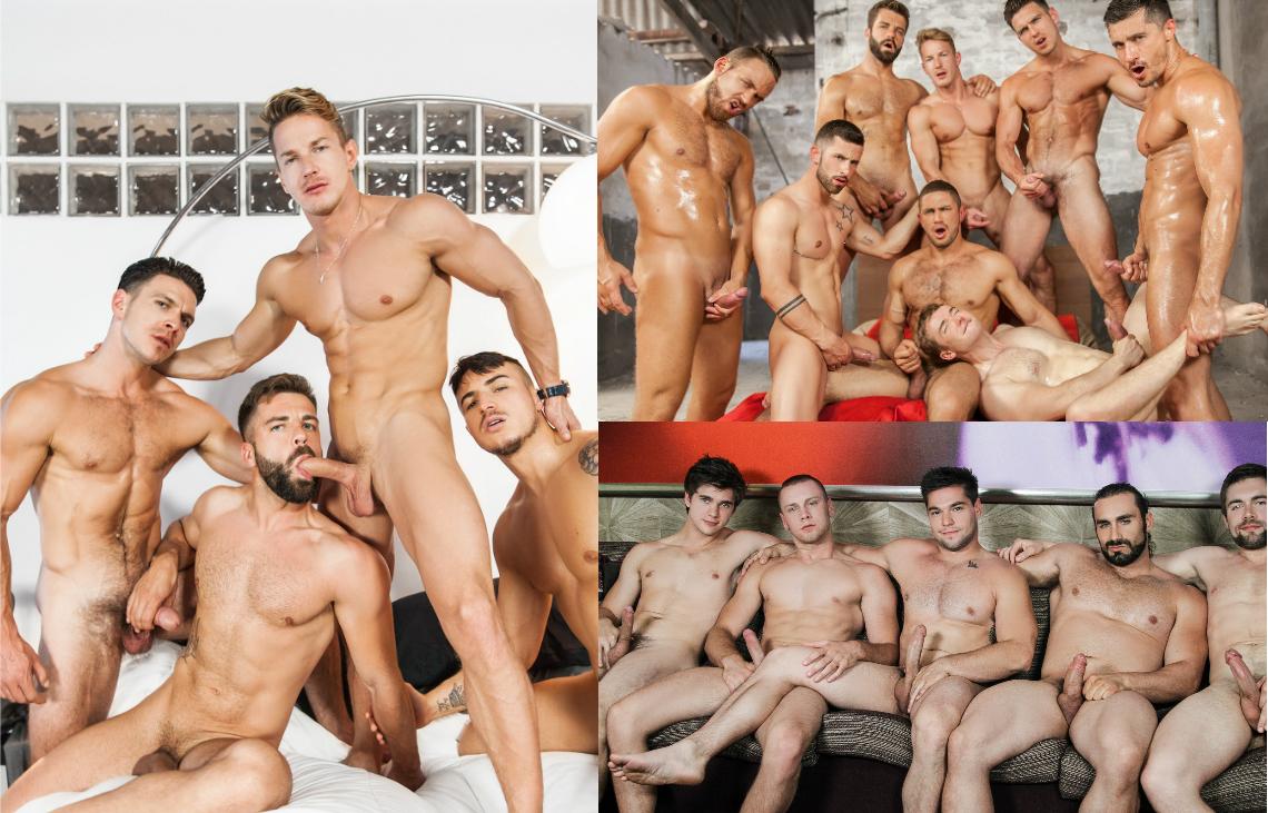 men gay orgies