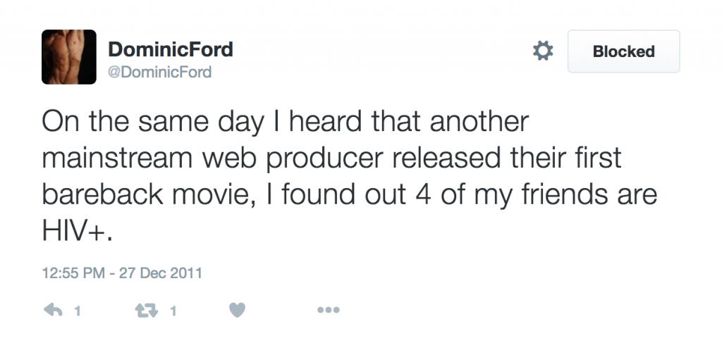 Dominic Ford Has Released Its First Bareback Scene, Despite Being An Anti-Bareback Studio