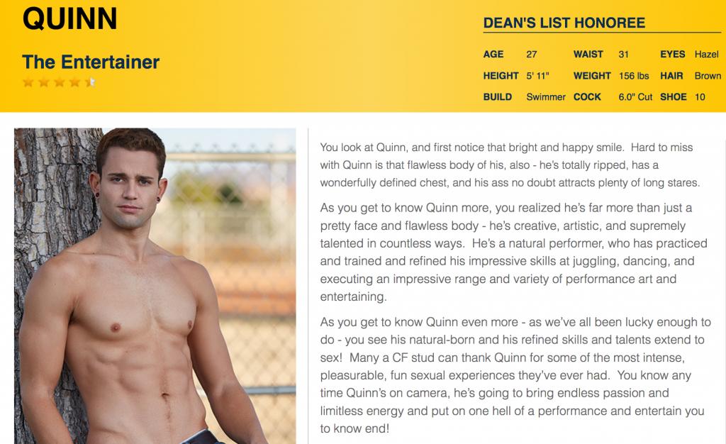"Corbin Fisher Responds To Former Model Quinn's Departure: ""We Wish Him The Best"""