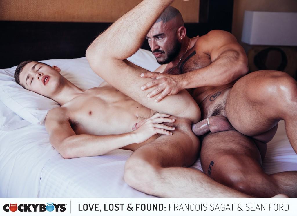 François Sagat Fucks Sean Ford In <em>Love, Lost &#038; Found</em> Finale