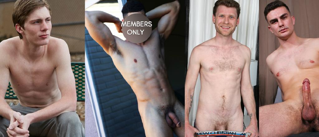 Battle Of The Gay Porn Newcomers: Larson Vs. Sammy Vs. Nate Vs. Basketball Stud