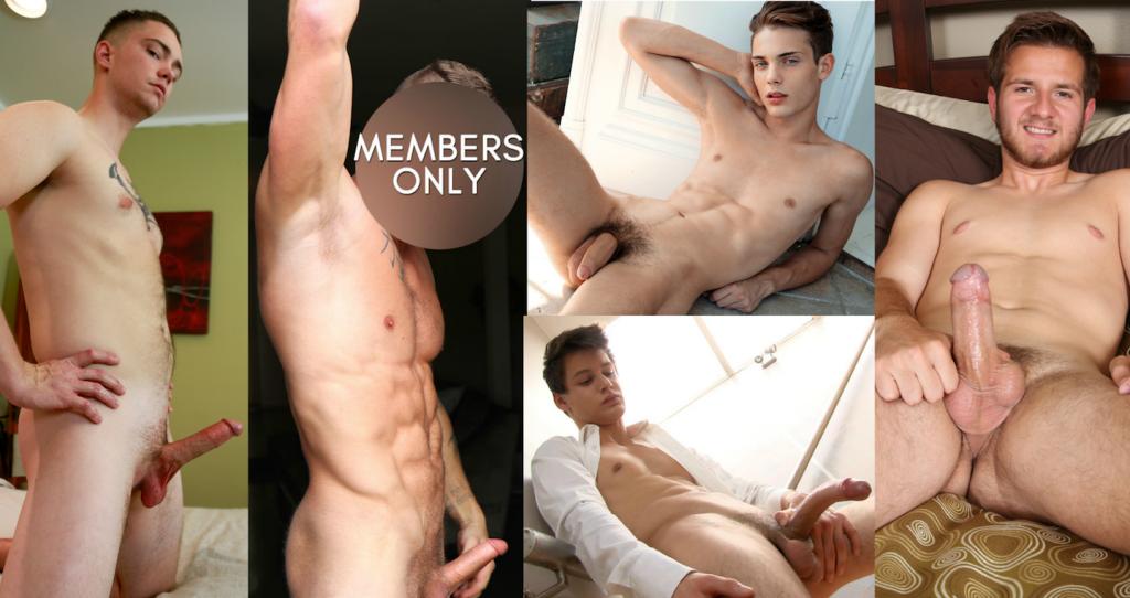 Battle Of The Gay Porn Newcomers: Justin Vs. James Vs. Maxime Vs. Faceless Man Vs. Logan Lane