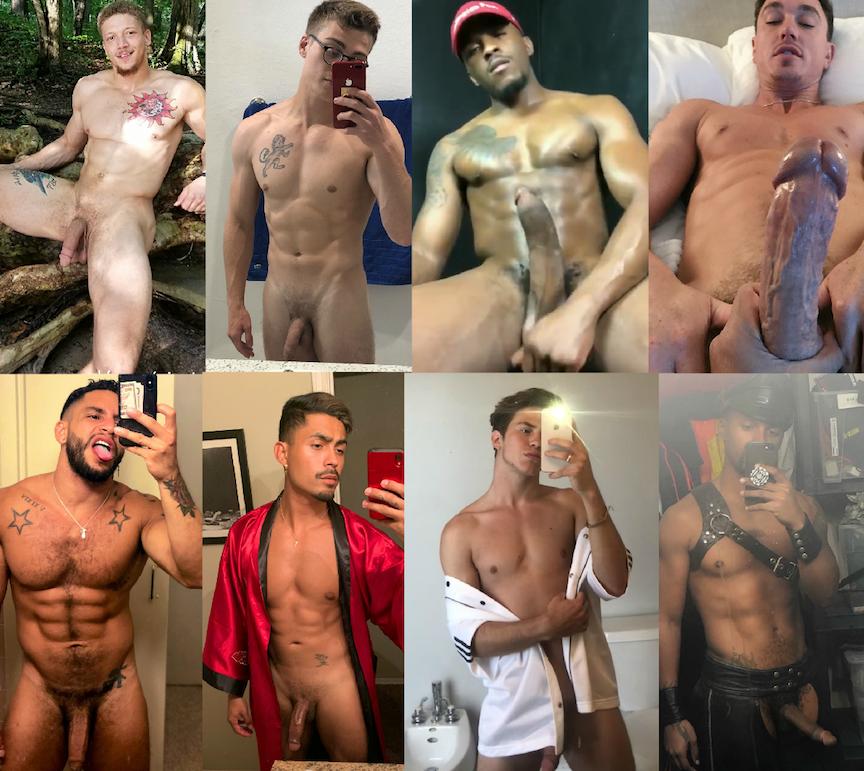 gay porn star selfies