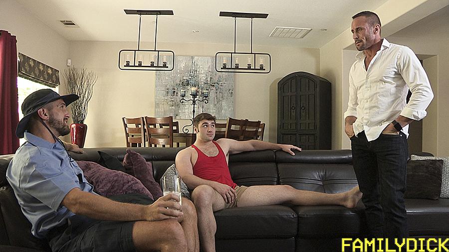 family dick gay porn bareback wesley woods myles landon michael boston